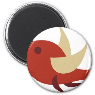 RetroBrightDayP8 2 Inch Round Magnet