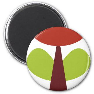 RetroBrightDayP9 2 Inch Round Magnet