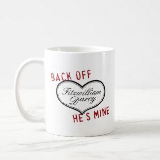 Retrocédalo es taza de Sr. Darcy de la mina