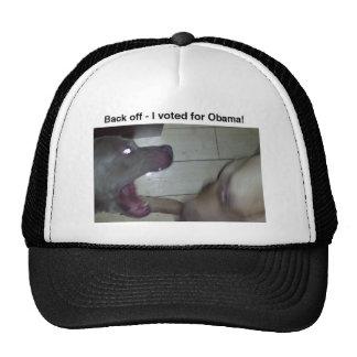 retrocédame votó por Obama Gorras