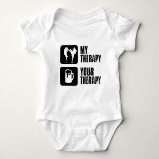Retroceso-Boxeo mi terapia Mameluco De Bebé