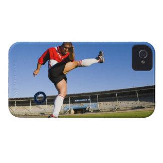 Retroceso con el pie del gamberro iPhone 4 Case-Mate carcasa