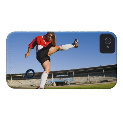 Retroceso con el pie del gamberro funda para iPhone 4 de Case-Mate