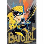 Retroceso de balanceo de Batgirl Fotoescultura Vertical
