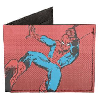 Retroceso de balanceo retro de Spider-Man Billeteras Tyvek®