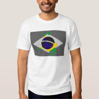 Retroceso de bicicleta de arriba del fútbol brasil playeras