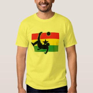 Retroceso de bicicleta de Ghana Playera