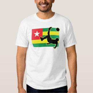 Retroceso de bicicleta de Togo Playeras