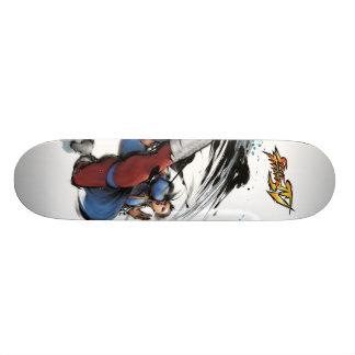 Retroceso de Chun-Li Tablas De Skate