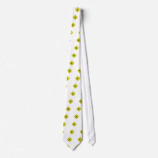 retroceso de la muestra con el pie corbata