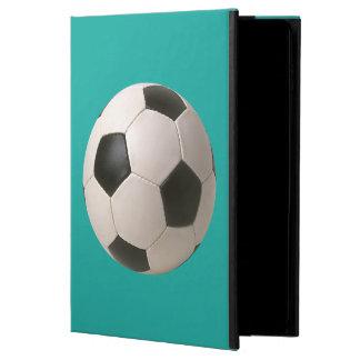 retroceso del balón de fútbol 3D él