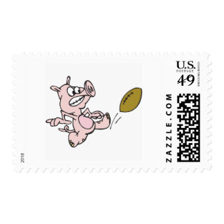 Retroceso del cerdo con el pie