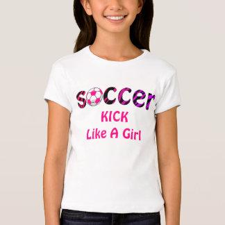 RETROCESO del fútbol como una camisa del chica