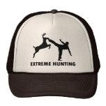 Retroceso extremo del karate de los ciervos de la  gorros