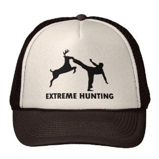 Retroceso extremo del karate de los ciervos de la  gorros bordados