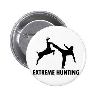 Retroceso extremo del karate de los ciervos de la  pin redondo de 2 pulgadas