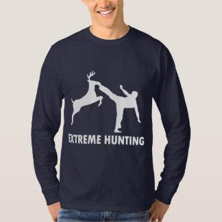Retroceso extremo del karate de los ciervos de la playera