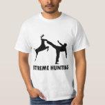 Retroceso extremo del karate de los ciervos de la poleras