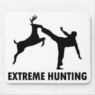 Retroceso extremo del karate de los ciervos de la  tapetes de raton