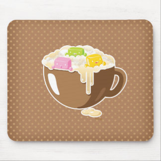 Retroceso Kawaii Mousepad del azúcar Tapete De Ratones