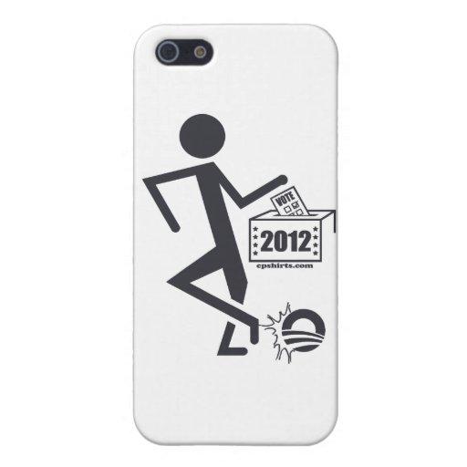 Retroceso Obama hacia fuera iPhone 5 Protector
