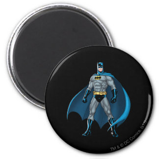 Retrocesos de Batman Imán Redondo 5 Cm