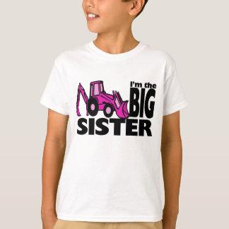 Retroexcavadora de la hermana grande camisas