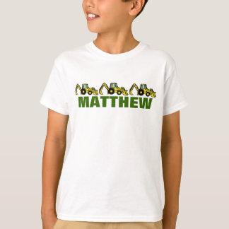 Retroexcavadoras para Matthew Playeras