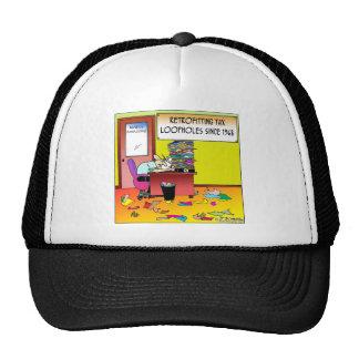 Retrofitting Tax Loopholes Trucker Hat