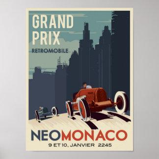 Retromobile Grand Prix Posters