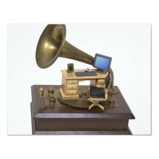 RetroOfficeModernTools072709 Custom Invitations