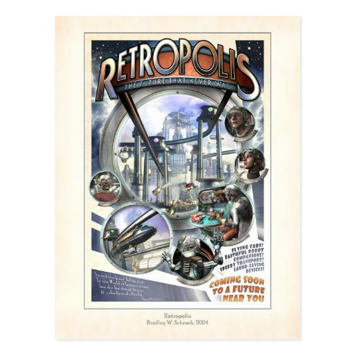 Retropolis Postcard