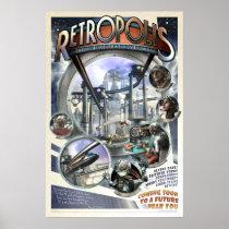 """Retropolis poster (20x30"""")"""