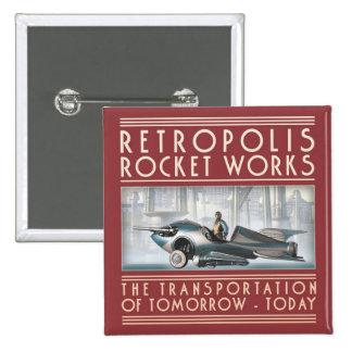 Retropolis Rocket trabaja el botón cuadrado