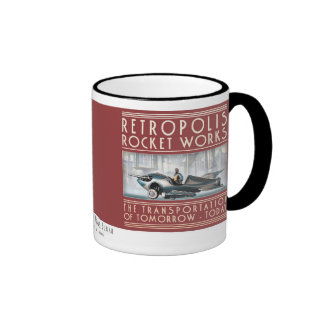 Retropolis Rocket trabaja la taza