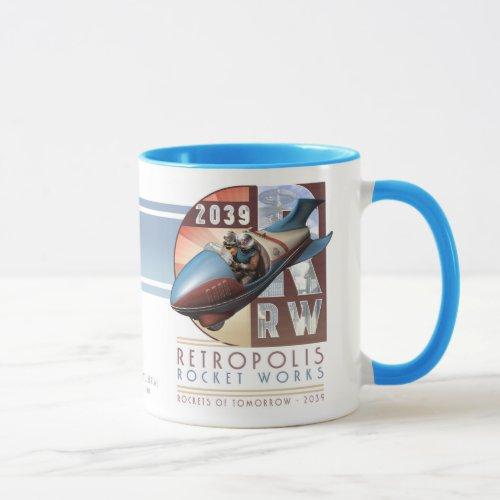 Retropolis Rocket Works Mug