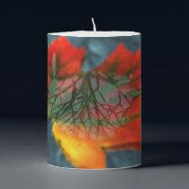 Retroreflection Pillar Candle