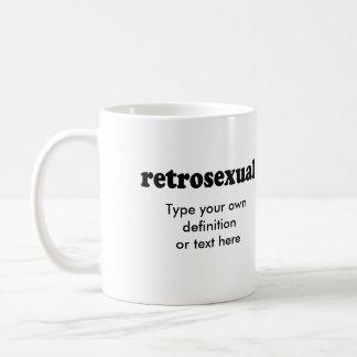 RETROSEXUAL COFFEE MUG