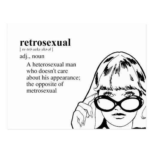 RETROSEXUAL POSTALES