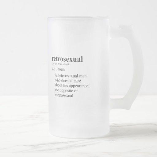 RETROSEXUAL TAZA DE CAFÉ