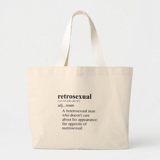RETROSEXUAL TOTE BAGS