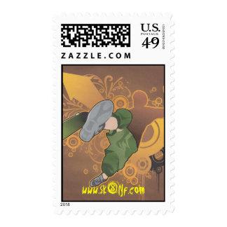 retrosk8 001, www.sk8lyf.com postage stamp