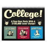 RetroSpoofs | Funny College Calendar