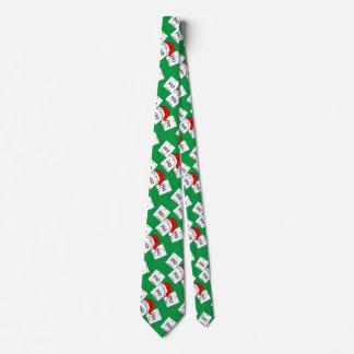 Retruécano del navidad del elemento de la química corbata personalizada
