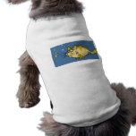 Retruécano del siluro ropa perro
