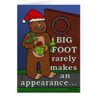 Retruécano divertido de las Felices Navidad de Big Tarjetas