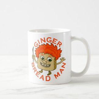Retruécano divertido del navidad del hombre del taza de café