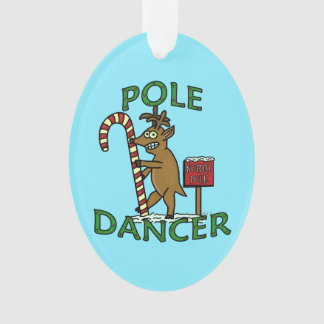 Retruécano divertido del reno del navidad del