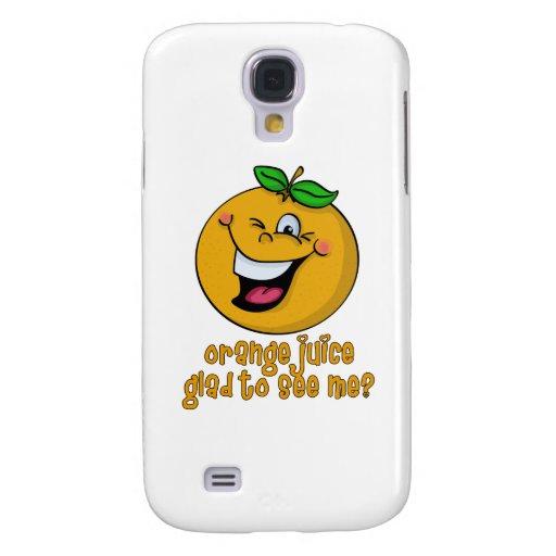 Retruécano divertido - zumo de naranja alegre verm
