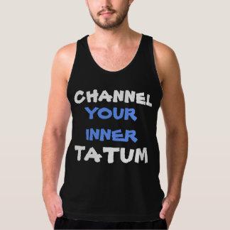 Retruécano hermoso del bailarín de Tatum del Playera De Tirantes